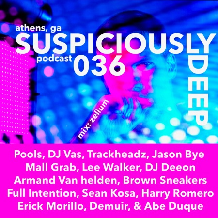 Suspiciously deep dj zelium house music podcast athens ga for House music podcast